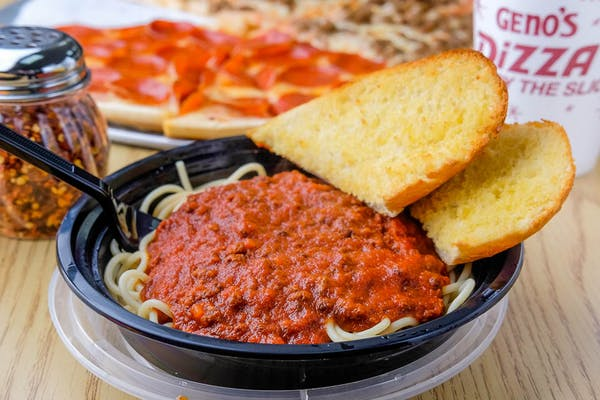 Spaghetti & Buttered Bread