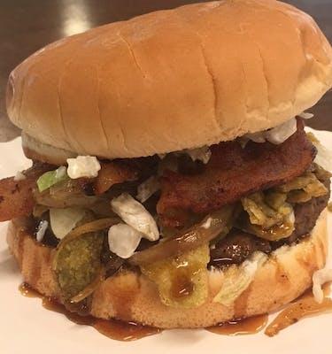 Cajunator Burger