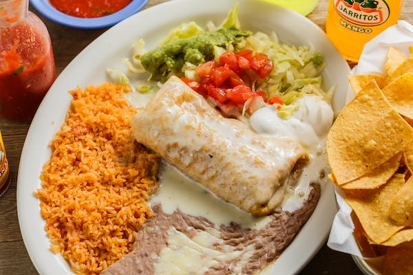 1. Chimichanga Dinner