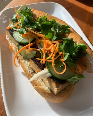 Marinated Tofu Banh Mi