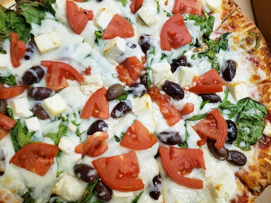 Greek New York Style Pizza