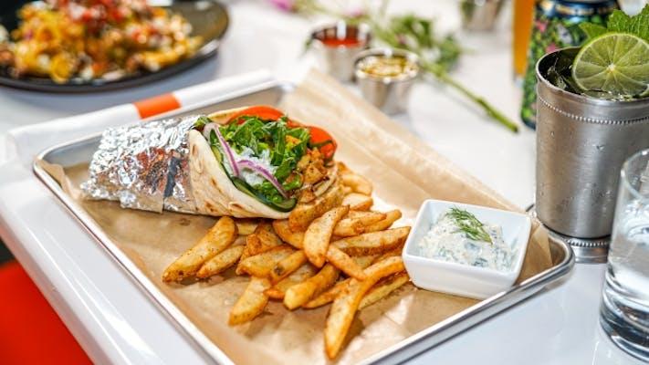 Masala Gyro Sandwich