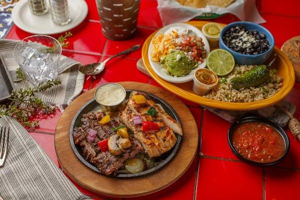 Beef & Chicken Combo Fajitas