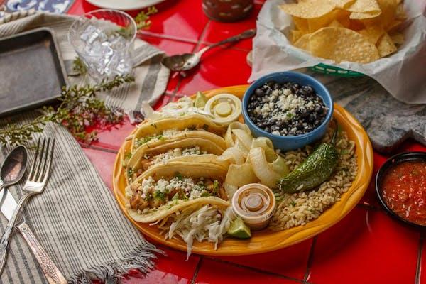 Shrimp Street Tacos