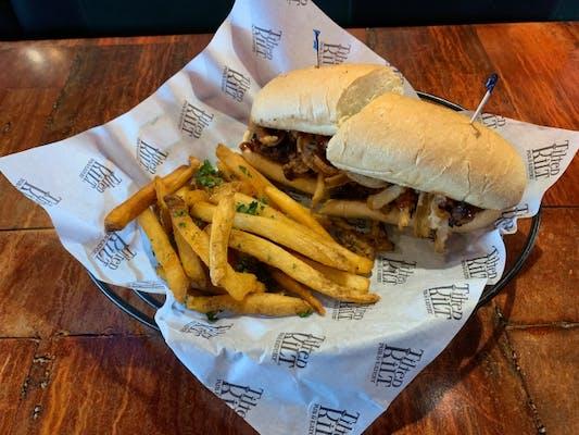 BBQ Meatloaf Sandwich