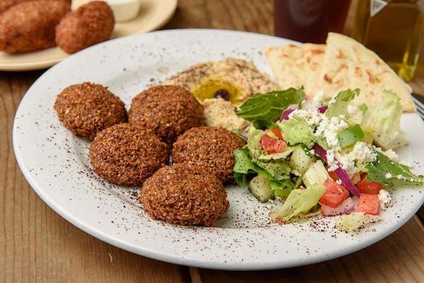 Falafel Meatless Plate