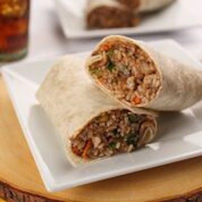Vegetarian Teriyaki Burrito