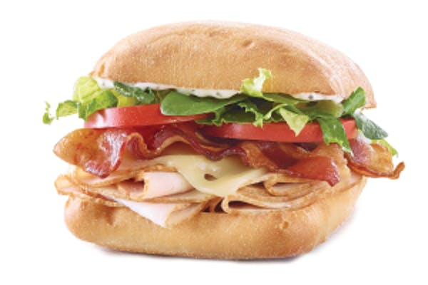 Turkey Bacon Ranch Sandwich