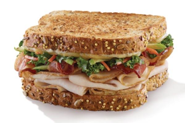 Turkey Apple Dijon Sandwich