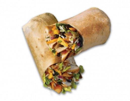 Caribbean Jerk Chicken Wrap or Bowl