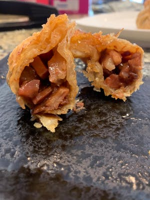 Honey BBQ Pork Dumpling