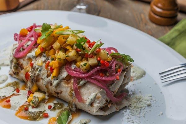 Chargrilled Pork Burrito