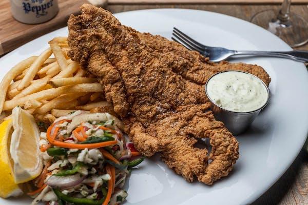 Fried Lousiana Catfish