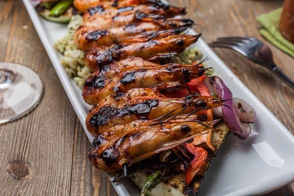 Thursday: Marinated Chili Shrimp Skewers