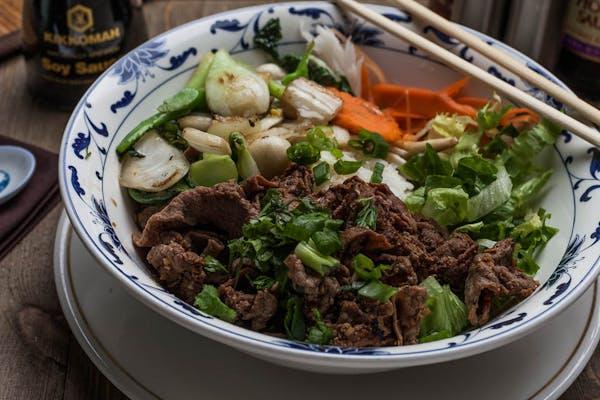 Asian Stir Fry Beef Rice Bowl
