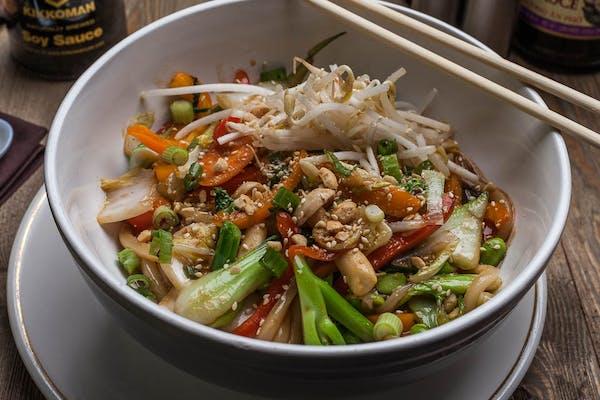 Stir-Fry Veggies with Udon