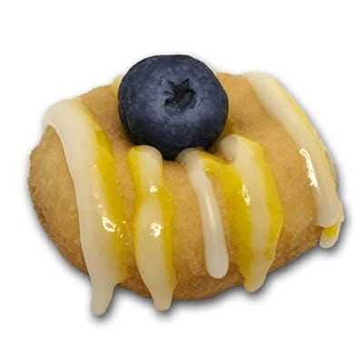 Blueberry Lemon Doughnut