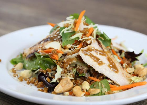 Sesame Chicken Grain Bowl