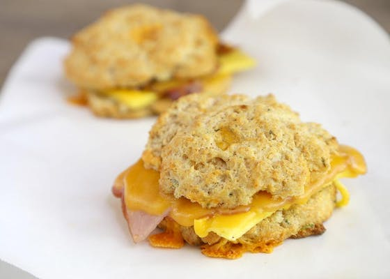 Build Your Own Breakfast Sandwich