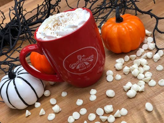 Pumpkin White Chocolate Mocha