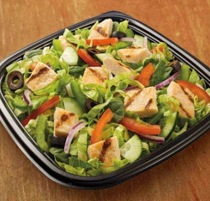 Oven-Roasted Chicken Chopped Salad
