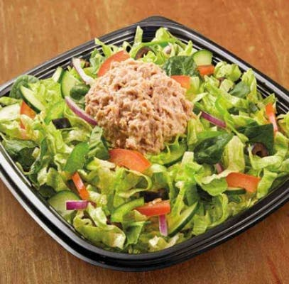 Tuna Chopped Salad