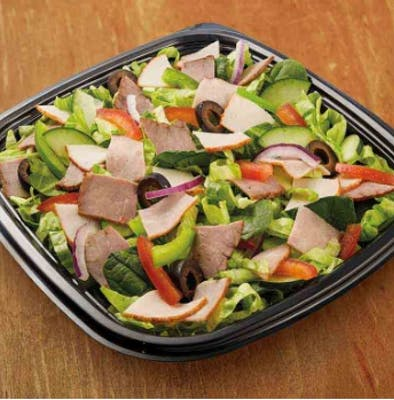Subway Club Chopped Salad