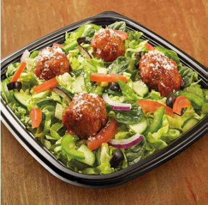 Meatball Marinara Chopped Salad