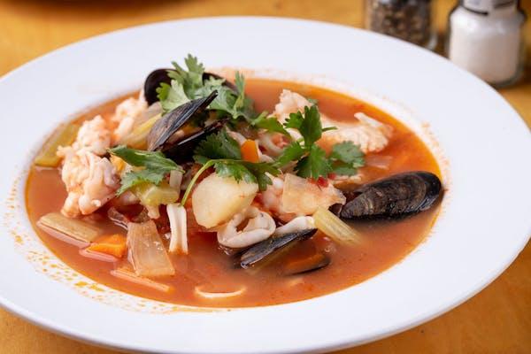 Seafood Bouillabaisse Soup