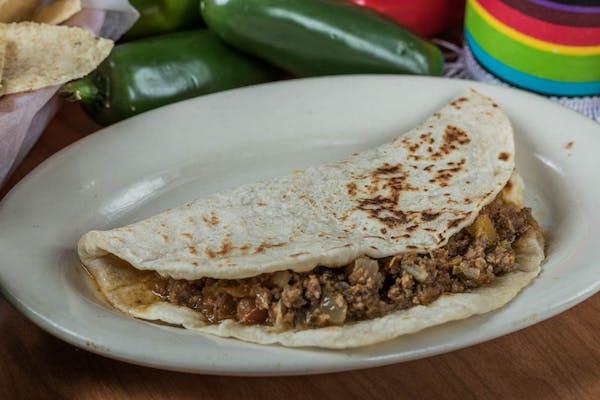 Picadillo Taco
