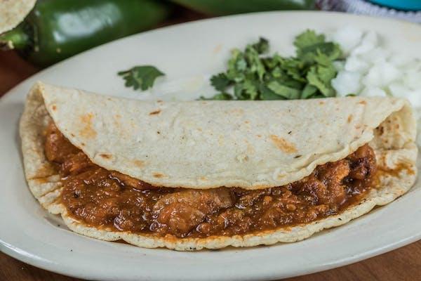 Chicharron Taco