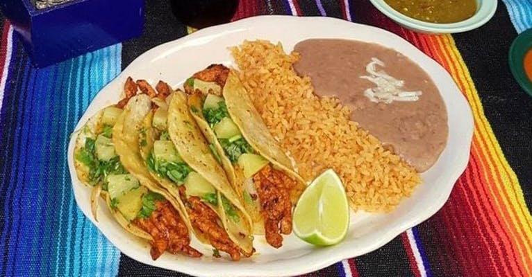 2. Tacos Al Pastor