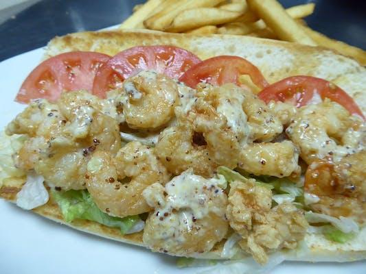Fish or Shrimp Poboy