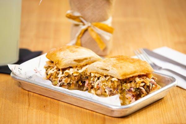 Far East Pork Sandwich