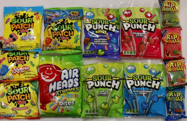 Sour Candy (Is the Best Candy)