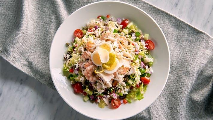 Seafood Chopped Salad