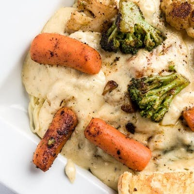Grilled Vegetable Alfredo