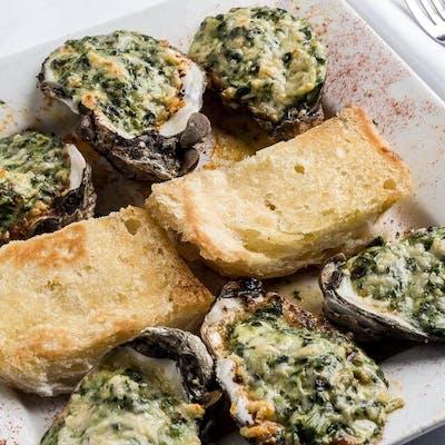 Fezzo's Oysters Rockefeller 1/2 Doz