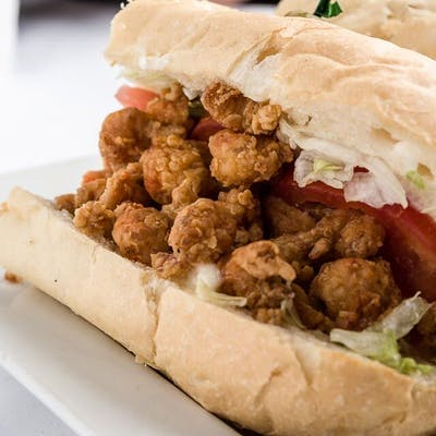 Crawfish Poboy
