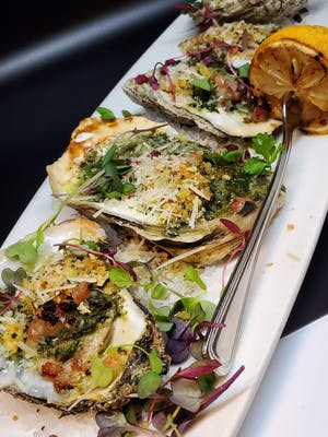Grilled Oysters Rock