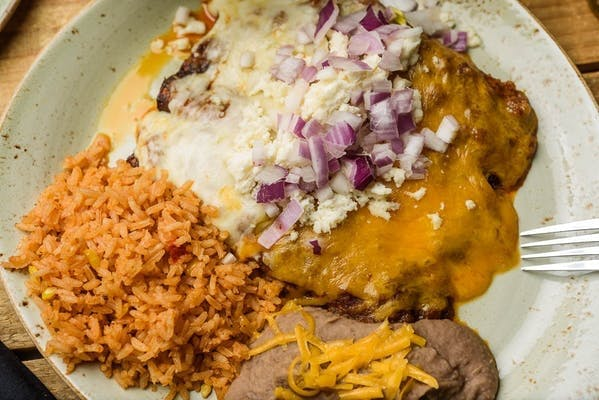 Laredo Cheese Enchiladas