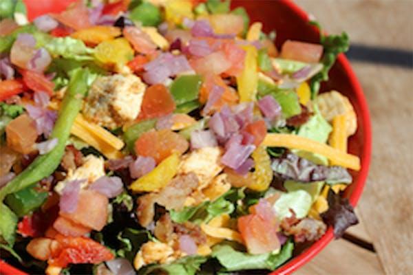 Sweet Cajun Chicken Salad