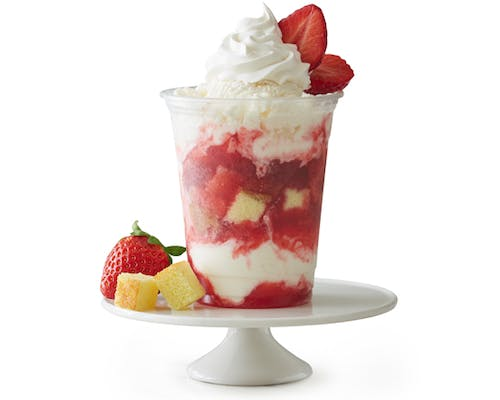 Strawberry Shortcake Sundae