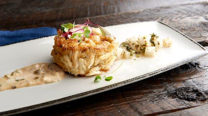 Dungeness Crab & Shrimp Cake Entrée