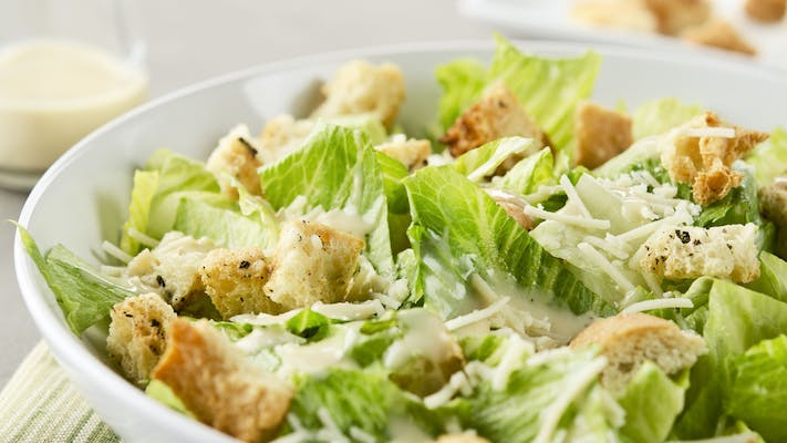 Hearts of Romaine Caesar Salad