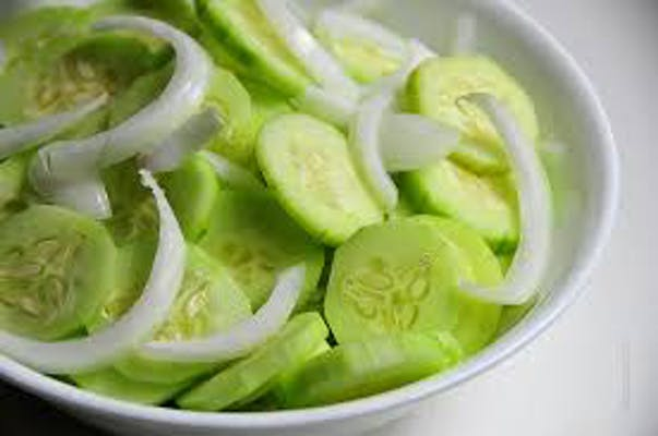 Onion & Cucumber Salad