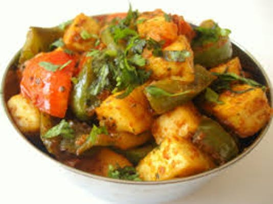 Fried Pepper Paneer