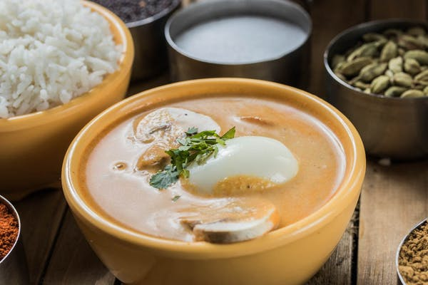 Egg Mushroom Masala