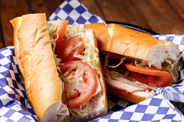 Single Meat & Cheese Sandwich