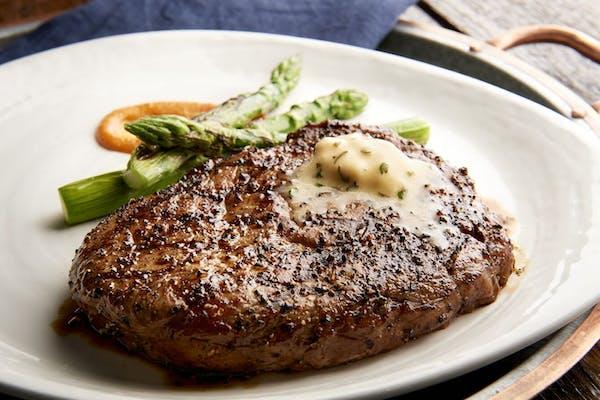 Dry Rubbed Black Angus Ribeye Steak (Center Cut)